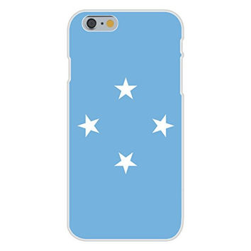 Apple iPhone 6 Custom Case White Plastic Snap On - Federated States of Micronesia - World Country National Flags