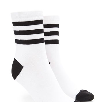 Striped Crew Socks | Forever 21 - 2000203466