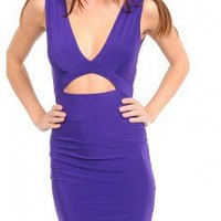 CUT OUT CROSSBACK DRESS @ KiwiLook fashion
