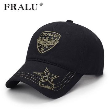 Trendy Winter Jacket FRALU Highquality Men Navy Seal Cap Snapback eagle Flat caps camouflage Hunting Fishing for Dad uncle Hat Bone Camo Outdoor Caps AT_92_12