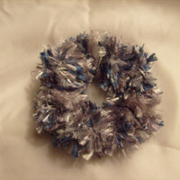 Crochet Hair Scrunchie or Candle Decoration