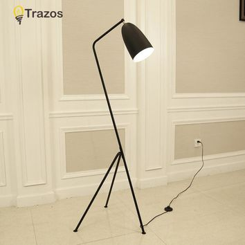 Single Industrial Floor Lamp