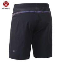 "Gotopfashion ""lululemon"" Men's fitness, dry and breathable running five - point pants"