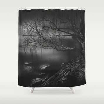 Once upon a tree Shower Curtain by HappyMelvin
