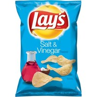 Lays Salt & Vinegar Potato Chips, 7.75 oz - Walmart.com