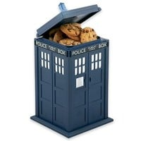 Doctor Who TARDIS Talking Cookie Jar by Underground Toys