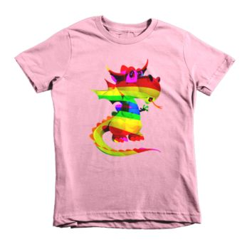 Draco Rainbow Short sleeve kids t-shirt