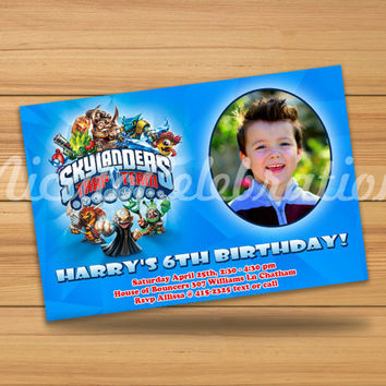 Printable Photo Skylanders - Digital File