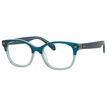 Fossil - Fos 7032 Green Eyeglasses / Demo Lenses