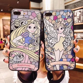 For iPhone XS Max XR X Alice In Wonderland Curious Cheshire Cat Embossed Soft Cover Case For iPhone 6 6S 7 8 Plus