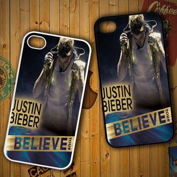 Justin Bieber Believe Tour F0481 LG G2 G3, Nexus 4 5, Xperia Z2, iPhone 4S 5S 5C 6 6 Plus, iPod 4 5 Case
