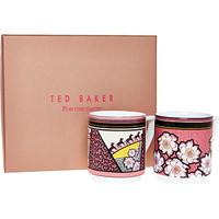 Ted Baker Two Pack Of Mugs