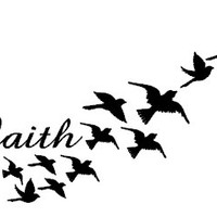 Demi Lovato Inspired FAITH Tattoo by EARinkFun on Etsy