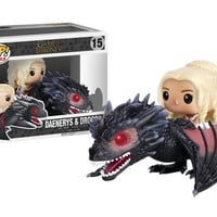 Funko Pop Game Of Thrones Figures Dragon With Box