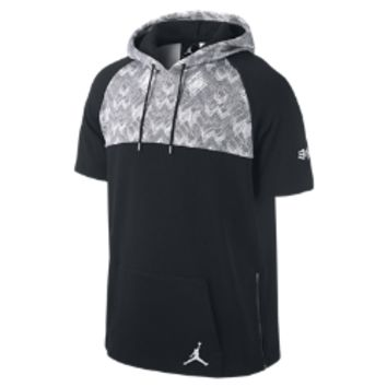 Jordan BHM Short-Sleeve Pullover Men's Hoodie, by Nike