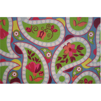 Fun Rugs Fun Time Collection Floral Paislies Area Rug