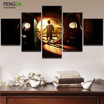 Wall Art Poster Frames In Modular HD Printed Living Room Decor Pictures  Panel Movie Landscape Canvas Abstract Painting PENGDA