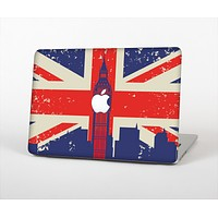 The Vintage London England Flag Skin Set for the Apple MacBook Air 13""