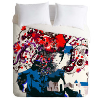 Randi Antonsen Smile Of Summer Duvet Cover