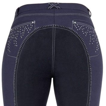 Crystal Estelle Full Seat Breeches by USG (More Colors!)