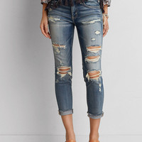AEO DENIM X JEGGING CROP