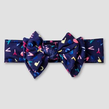Girls' Floppy Bow Headband Cat & Jack™-Multi-Colored