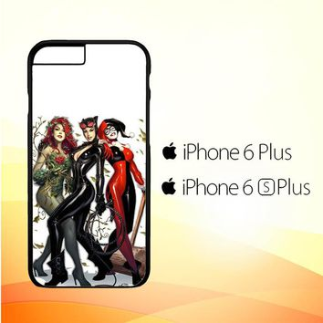 Poison Ivy Harley Quinn,Batgirl And Catwoman  Z0225 iPhone 6 Plus|6S Plus Case