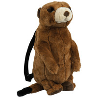 Meerkat Plush Backpack