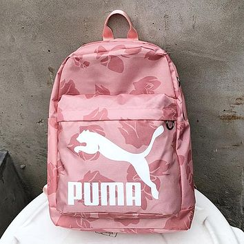 Puma Casual Fashion Simple School Backpack Travel Bag