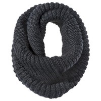 Mossimo® Twisted Neck Snood Scarf - Black