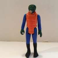 Vintage Kenner Star Wars Walrus Man action figure Very Good Condition 1978
