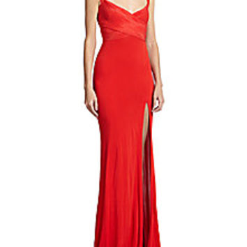 Donna Karan - Cross-Front Gown - Saks Fifth Avenue Mobile