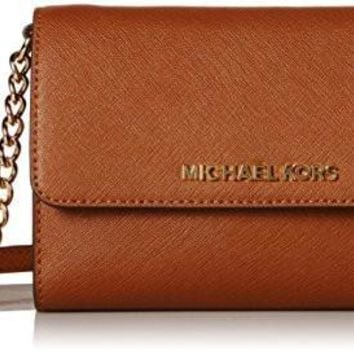 MICHAEL Michael Kors Women's Jet Set Large Phone Cross Body Bag