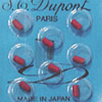S.T. Dupont Red Flints For Ligne D Lighters 3 pack of 24 flints