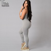 Womens Sexy Tight Camisole Pants Bodybuilding Yoga Leggings