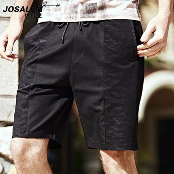 JOSALEM Men Summer Shorts Fashion Solid Men's Short Pants Jogger Men Clothing Beach Drop Crotch Boardshorts Bermuda Homme