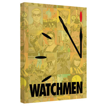 Watchmen Doomsday Stretched Canvas Wall Art