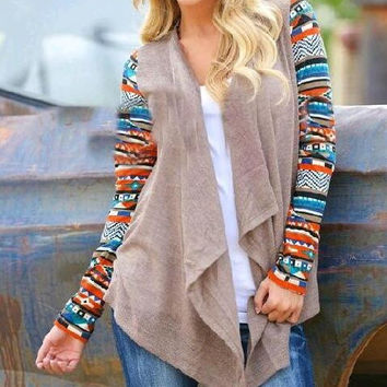 Womens Boho Cardigan Sweater