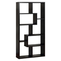 Highpoint Contoured Bookcase - Black