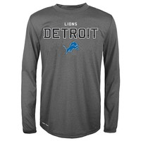 Detroit Lions Dri-Tek Performance Tee - Boys 8-20