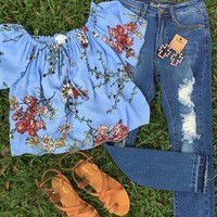The Maci denim from PeaceLove&Jewels