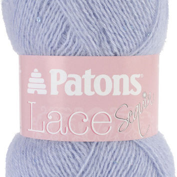 lace sequin yarn-pale blue