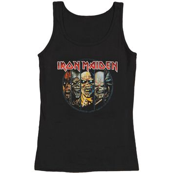 Iron Maiden Women's  Evolution Womens Tank Black
