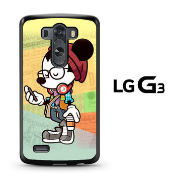 Hipster Mickey Mouse LG G3 Case
