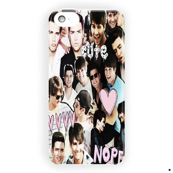 Logan Henderson Big Time Rush Cutes For iPhone 5 / 5S / 5C Case