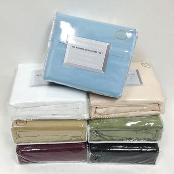 1500 COLLECTION - Wrinkle Resistant Super Soft 100% Brushed Microfiber -95 GSM- Sheet Set