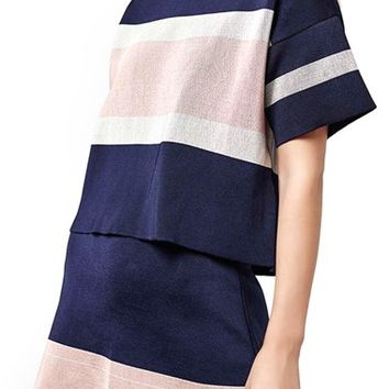 Topshop Modern Stripe Boxy Tee | Nordstrom