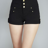 Retro Chic High-Waisted Shorts | Wet Seal