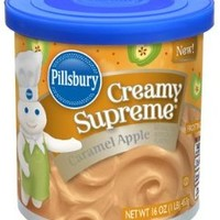 Pillsbury Caramel Apple LIMITED EDITION Frosting (Pack of 2)