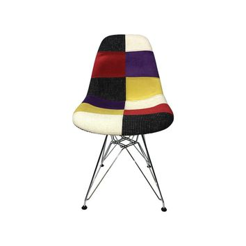 DSR Eiffel Patchwork Chair - C - Reproduction